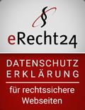 Noblehouse | Datenschutzerklärung für rechtssichere Webseiten | eRecht24 Siegel